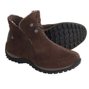 Sorel Nicolet Brown Suede Thinsulate Boots